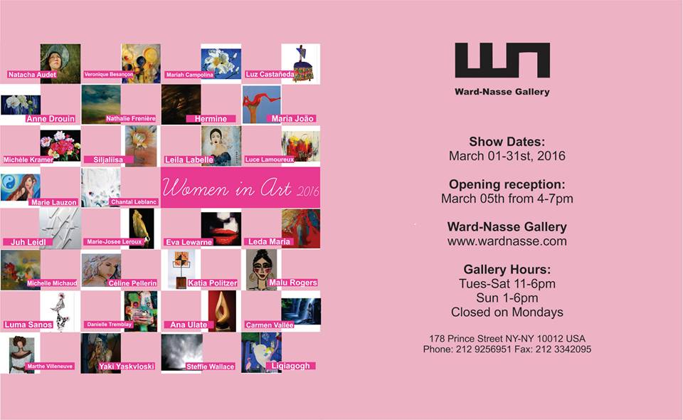 Women in art 2016